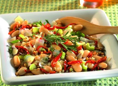 Riesenbohnensalat
