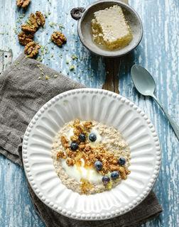 Vanilliges Porridge