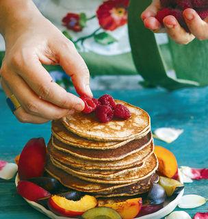 Knusprige Buchweizen-Pancakes
