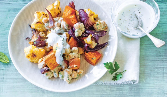 Orientsalat aus dem Ofen