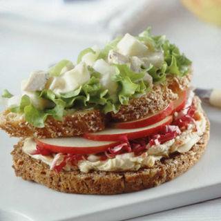 Fruchtiges Sandwich