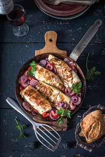 Kohlrouladen mit TischleinDeckDich®-Salat