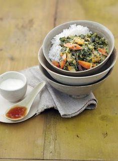 Grünkohlcurry mit Möhren