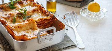 Süßlupinen-Lasagne
