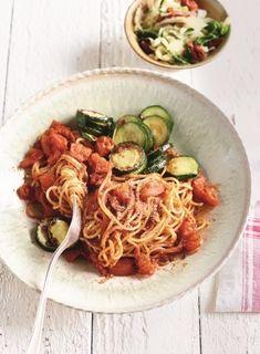 Gebratene Spaghetti