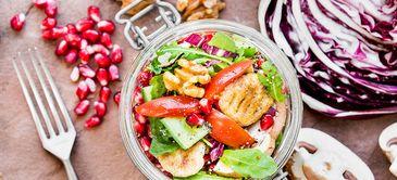 Gnocchi-Salat im Glas
