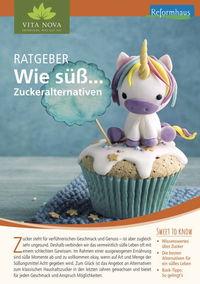 Ratgeber Wie süß...Zuckeralternativen