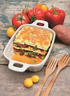 Specialita della Casa Lasagne mit Zucchini und Süßkartoffeln
