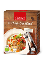 Quinoa-Hirse-Mahlzeit TischleinDeckDich® von P. Jentschura®